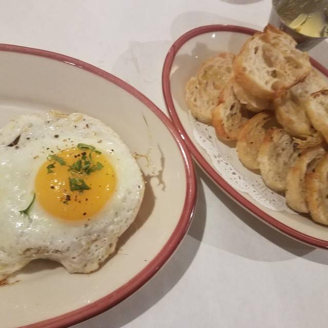 French Crust Cafe Dinner Menu