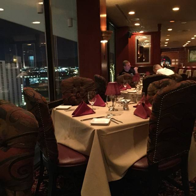 Top of Binion's Steakhouse, Las Vegas, NV