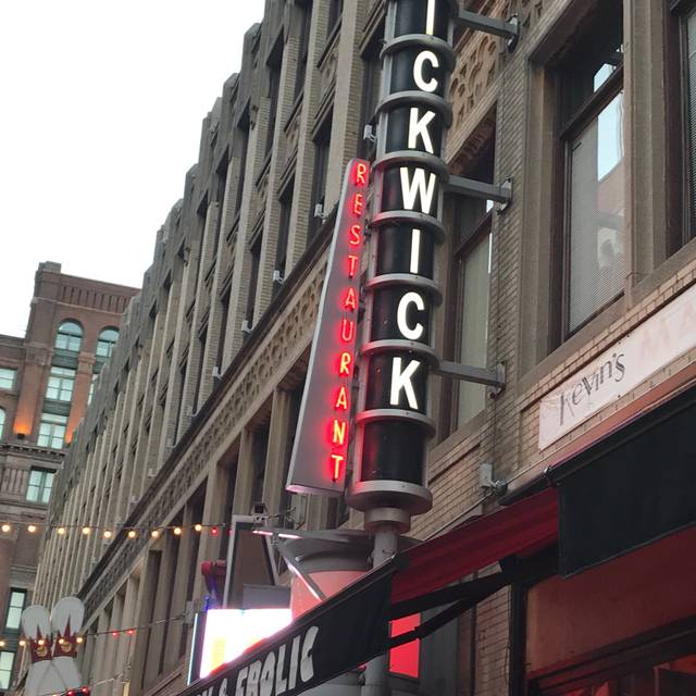 Pickwick & Frolic, Cleveland, OH