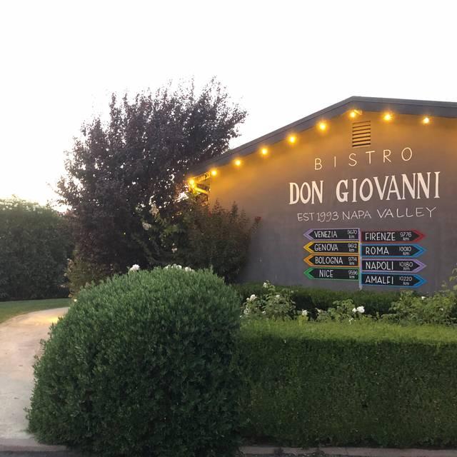 Bistro Don Giovanni -- Napa, Napa, CA