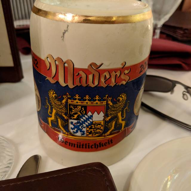 Mader's German Restaurant, Milwaukee, WI