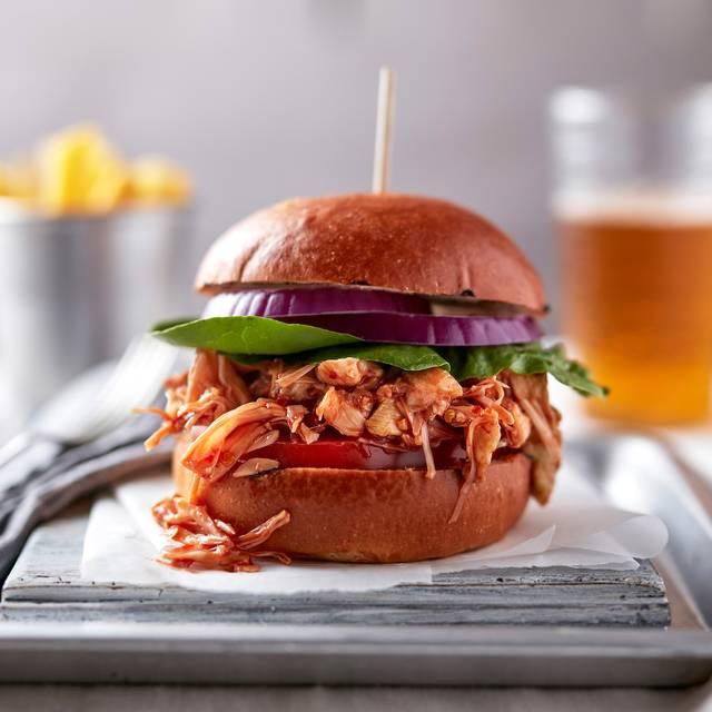 Jackfruit Vegan Burger - The Happenstance, London