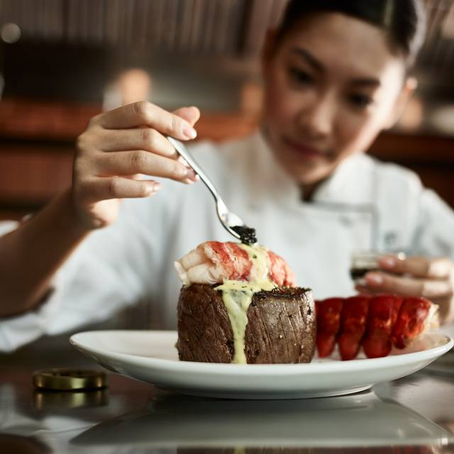 Filet And Lobster With Caviar - Fleming's Steakhouse - Atlanta, Atlanta, GA