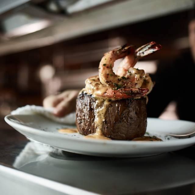 Filet And Shrimp - Fleming's Steakhouse - Tyson's Corner, Tysons Corner, VA