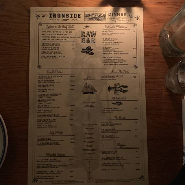 Ironside Fish & Oyster, San Diego, CA