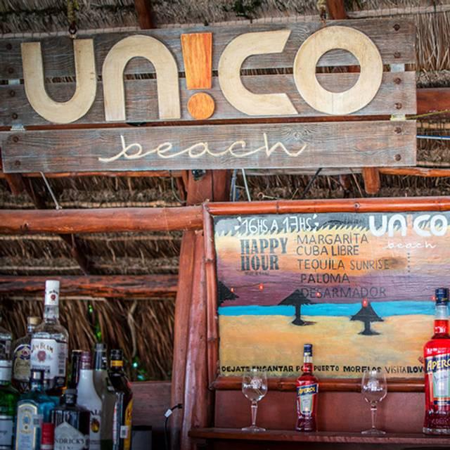 Beach Bar -  X - Unico Beach, Puerto Morelos, ROO