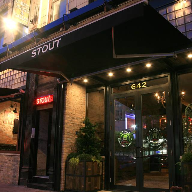 Stout - Stout Barrel House and Galley, Chicago, IL
