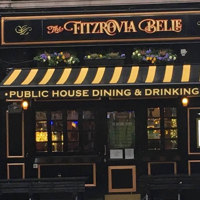 Fitzrovia Belle Public House, London