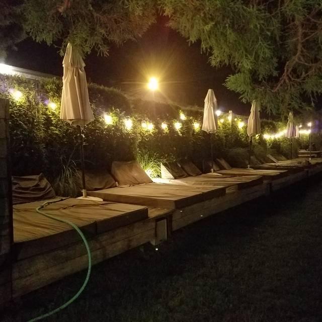 Backyard Restaurant @ Solé East, Montauk, NY