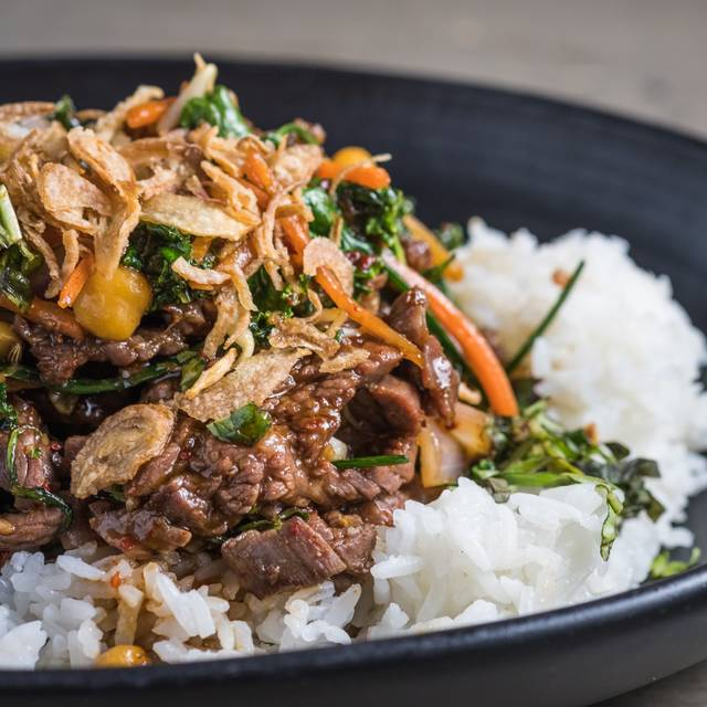 Sizzling Thai Basil Beef - BellyQ, Chicago, IL