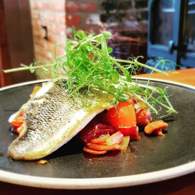 Seabass - The Plough, Rye, East Sussex