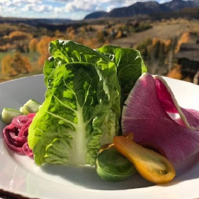 Little Gem Salad - Altezza at The Peaks, Mountain Village, CO