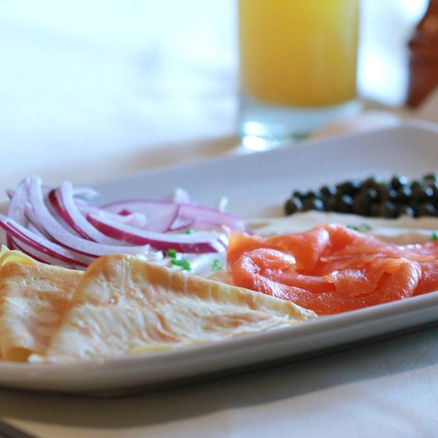 Salmon Crepe - Chez Max, Richmond, VA