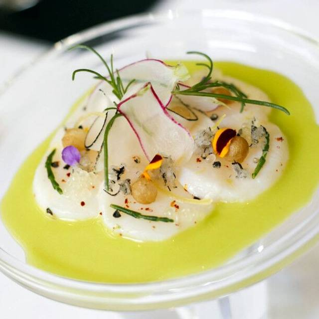 A Scallop Dish - Gabriel Kreuther, New York, NY