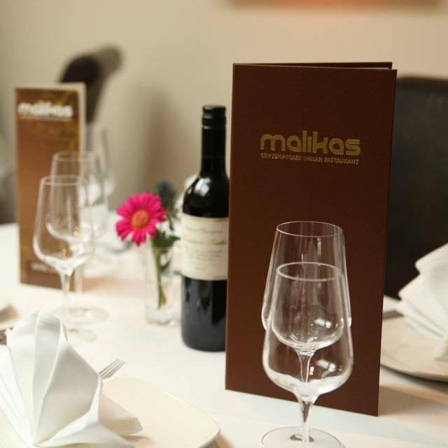 Malika's Restaurant, Oxford, Oxfordshire
