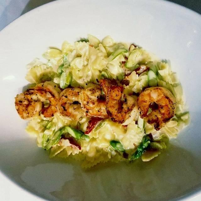 Good Shrimp Pasta Alfredo   Patio Delray, Delray Beach, FL