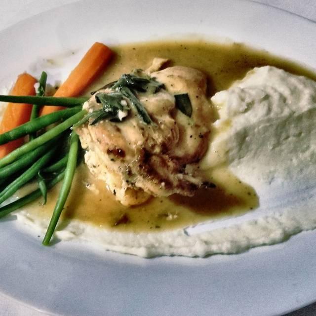 Roasted Chicken Chop - Patio Delray, Delray Beach, FL