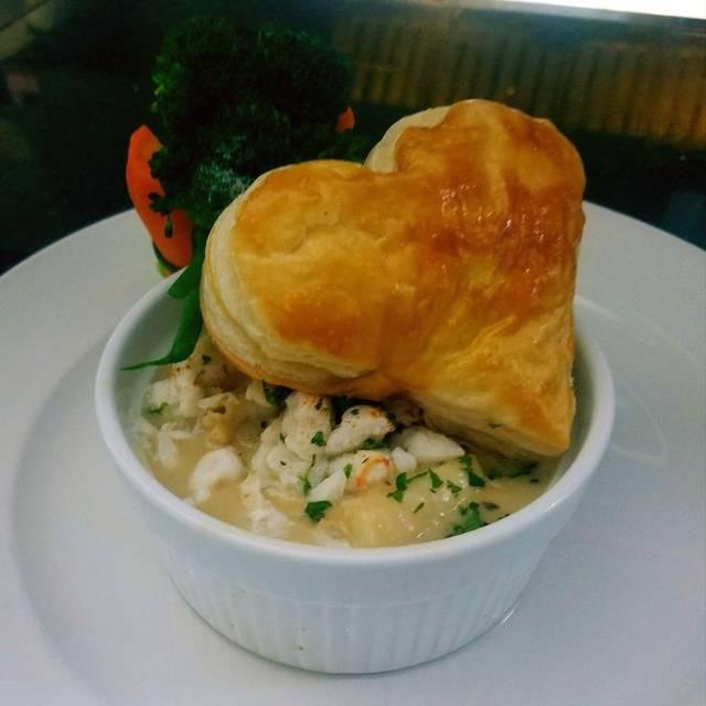 Seafood Newburg Pot Pie - Patio Delray, Delray Beach, FL
