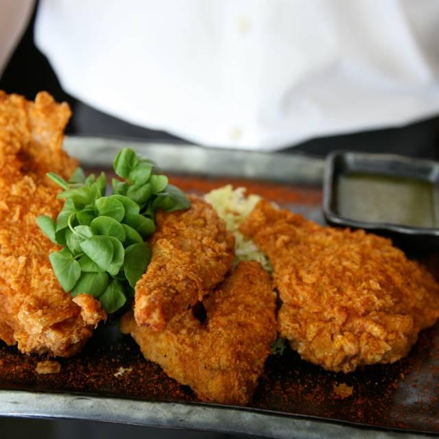 Fried En Teresa Misagal Blue Ribbon Sushi Bar Grill South Beach Miami