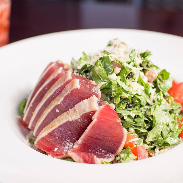 Chop Salad With Ahi - ROCK'N FISH L.A. LIVE, Los Angeles, CA