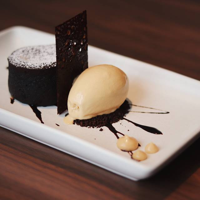 Valrhona Chocolate Cake - Scarpetta, New York, NY