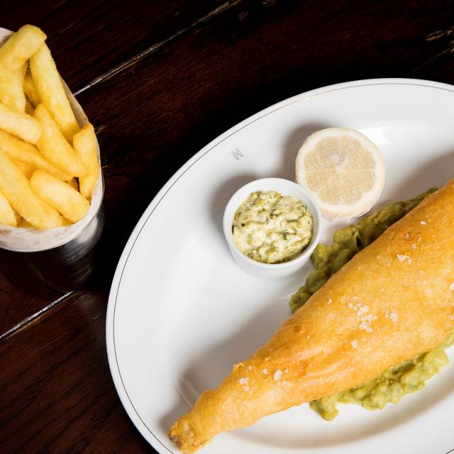 Fish & Chips - Holborn Dining Room, London