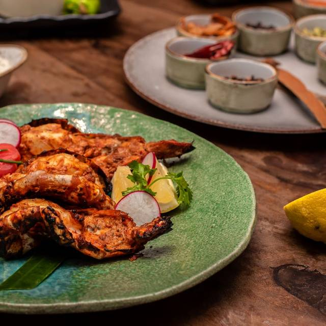 Butterfly Tiger Prawns, In Tandoor With Goan Spices - Chokhi Dhani London, London