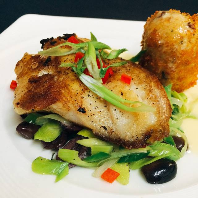 Seared Red Snapper - Skopelos at New World, Pensacola, FL