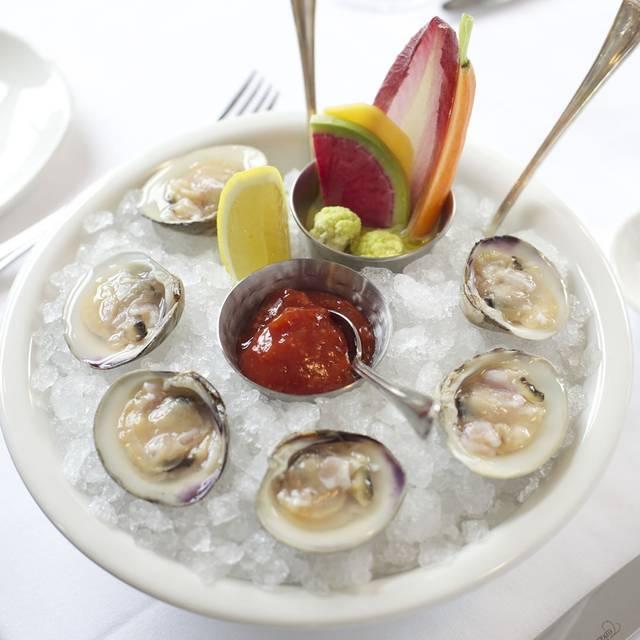 Iced-clams - The Clam, New York, NY