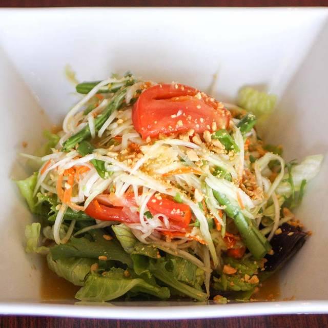 Papaya+salad - Monkey Thai South Shore, Alameda, CA