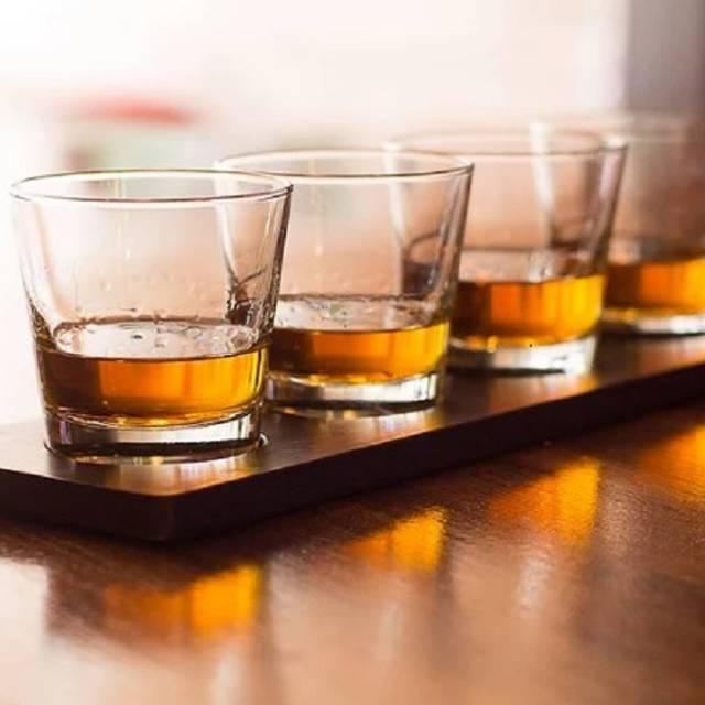 Bourbon Flight - Explorers, an American Gastropub, Baltimore, MD
