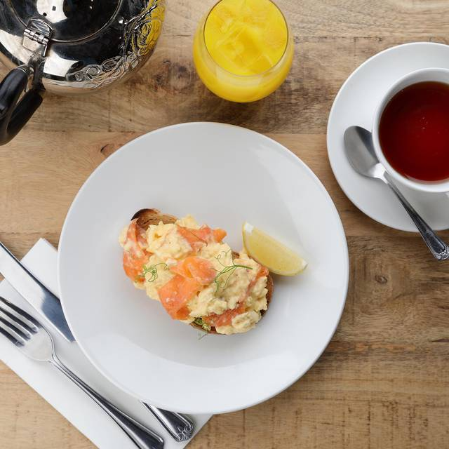 Scrambled Eggs - Restoration Cafe, Dalkeith, Midlothian