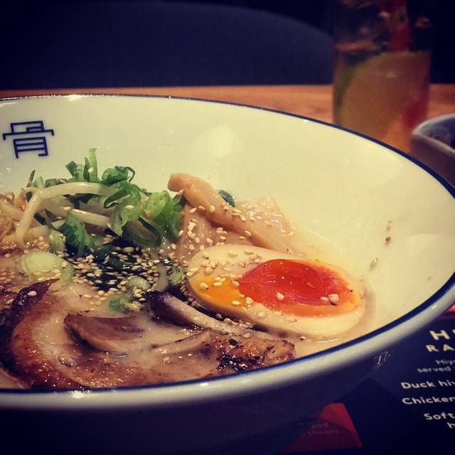 Tonkotsu St James Market, London