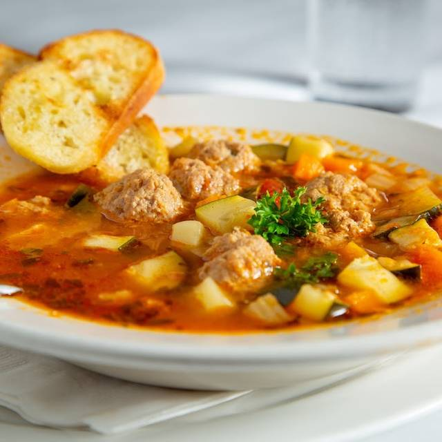 Meatball Soup - Café Bionda, Chicago, IL