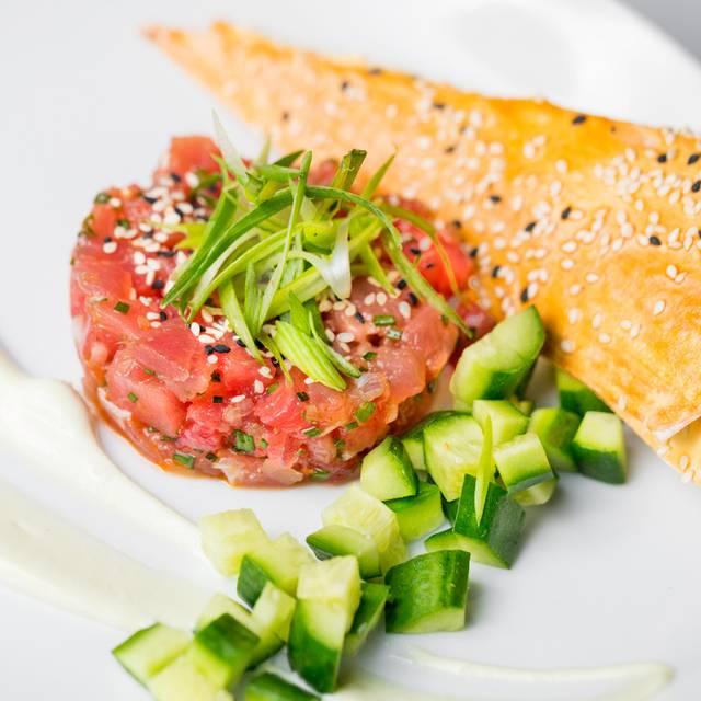 Tuna Tartare: sashimi grade ahi tuna, citrus ponzu - 208 Rodeo, Beverly Hills, CA