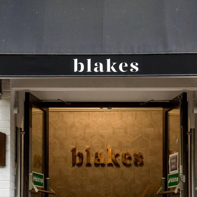 Blakes Restaurant & Cocktail Lounge, Birmingham, West Midlands
