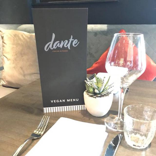 Dante Italian Kitchen Hale Cheshire Opentable