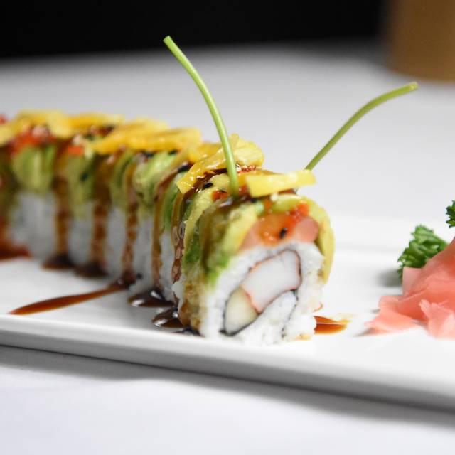 Caterpillar Roll - Kobe Japanese Steakhouse - International Drive, Orlando, FL