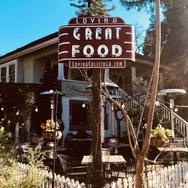 Lovina, Calistoga, CA