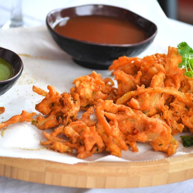 Onion Pakora - Tamarind Indian Cuisine, Sterling, VA