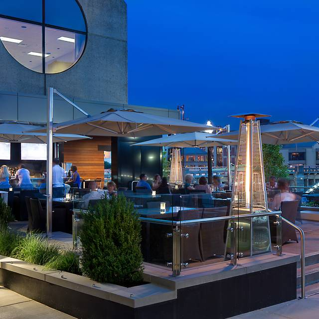 Agp-kitchen-by-wp-patio-night-edit - The Kitchen by Wolfgang Puck, Grand Rapids, MI