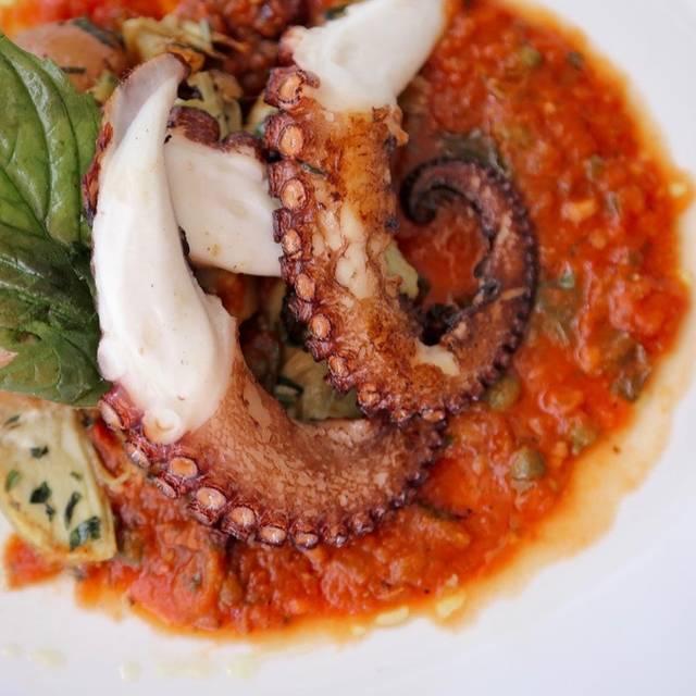Octopus Appetizer - Vergina, Naples, FL