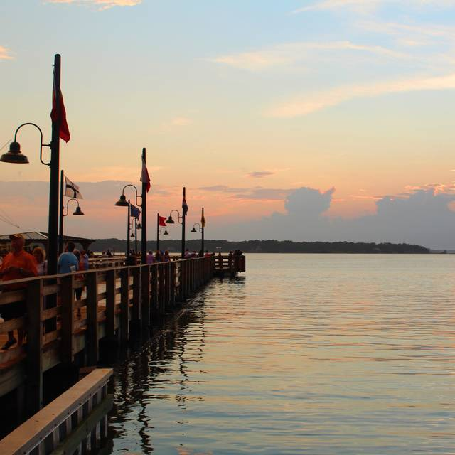 Pier Sunset - Quarterdeck Waterfront Dining, Hilton Head Island, SC