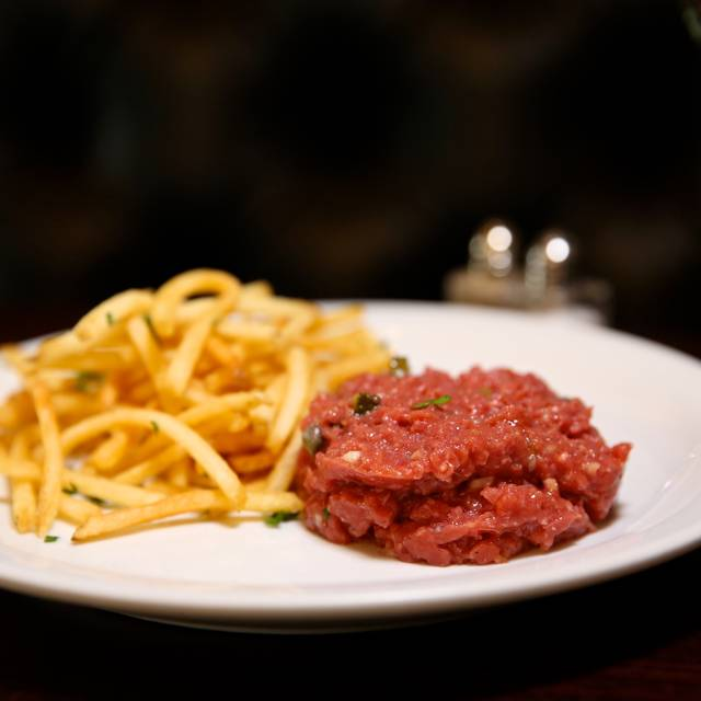 Beef tartare + French fries - Ohlala French Bistro, Las Vegas, NV