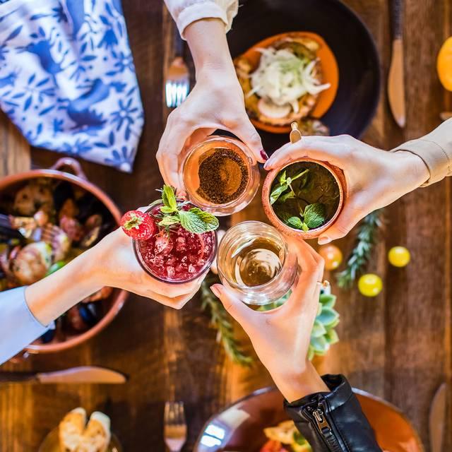 Cocktails - Mustangs & Burros at Estancia La Jolla, San Diego, CA