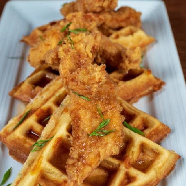 Chicken Waffle - The Swimming Pig, Bahamas, Bahamas