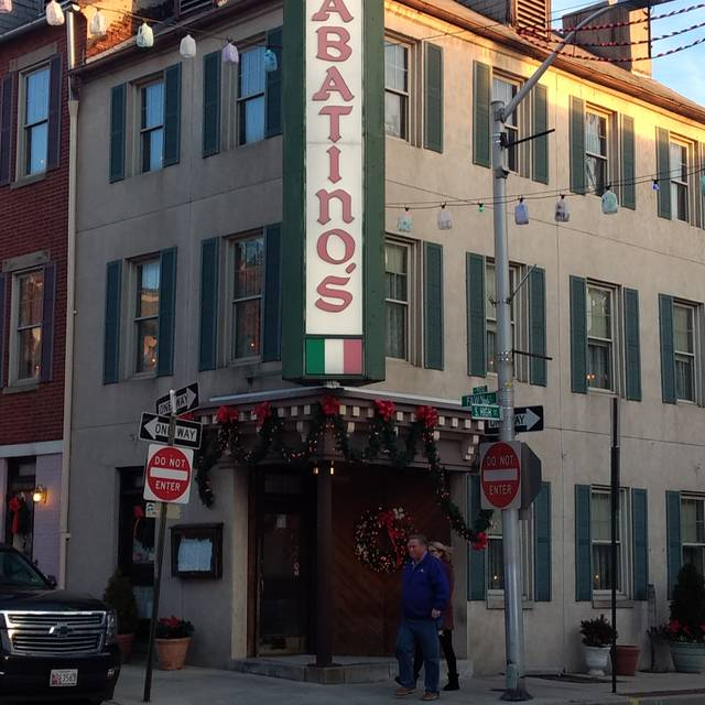 Sabatino's, Baltimore, MD