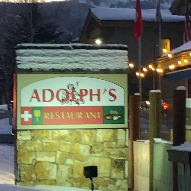 Adolph's Restaurant, Park City, UT
