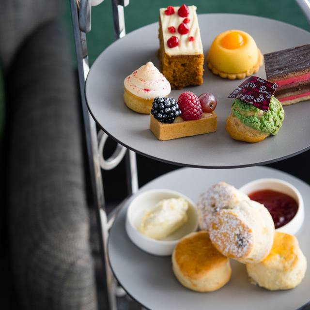 Afternoon Tea Cakes - Afternoon Tea at The Belfry Hotel and Resort, Sutton Coldfield, West Midlands