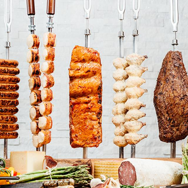 Sausage, Chicken And Bacon, Pork Ribs, Parm Chicken, Flank - Texas de Brazil - Carlsbad, Carlsbad, CA